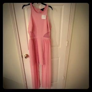 Pink High Low dress